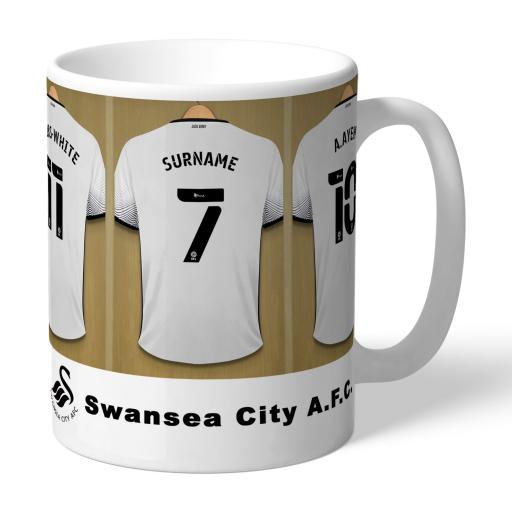 Swansea City AFC Dressing Room Mug