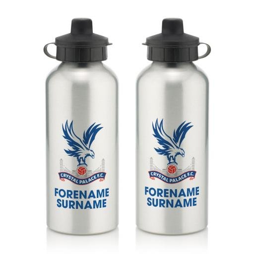 Crystal Palace FC Bold Crest Water Bottle