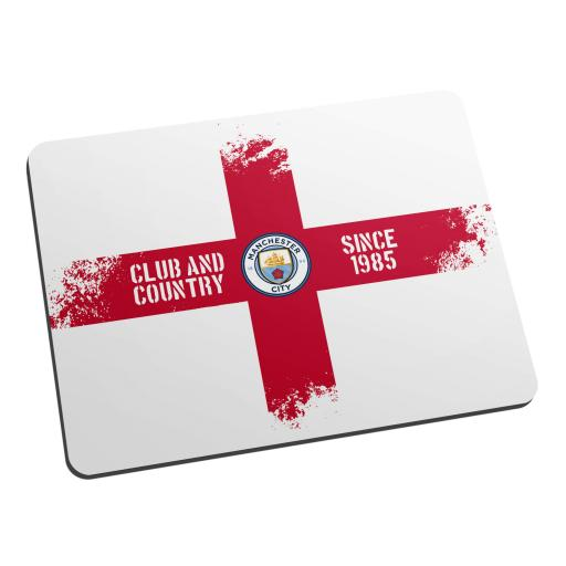 Manchester City FC Club and Country Mouse Mat