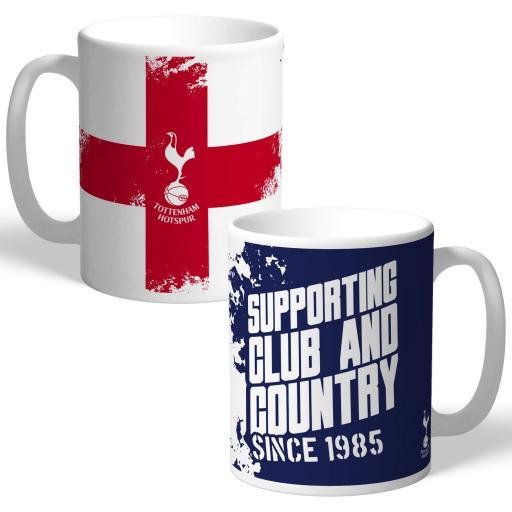 Tottenham Hotspur Club and Country Mug