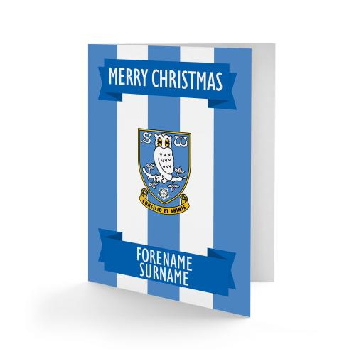 Sheffield Wednesday FC Crest Christmas Card