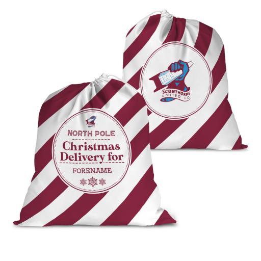 Scunthorpe United FC Christmas Delivery Santa Sack