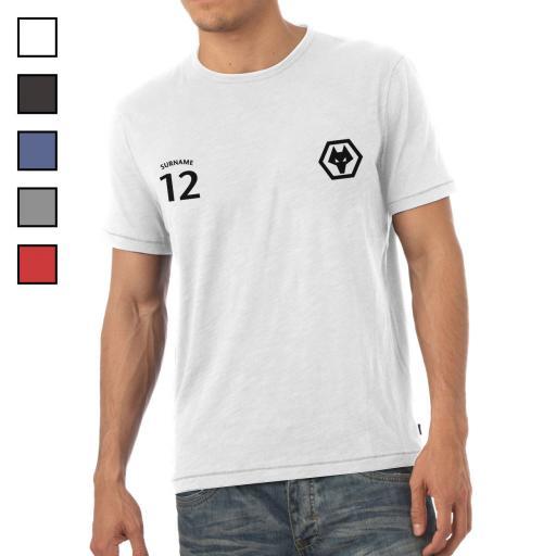 Wolves Mens Sports T-Shirt