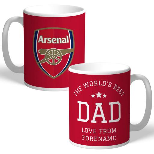 Arsenal FC World's Best Dad Mug