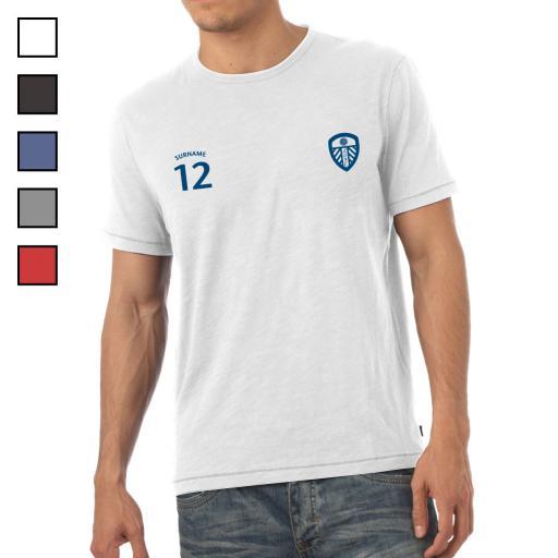Leeds United FC Mens Sports T-Shirt