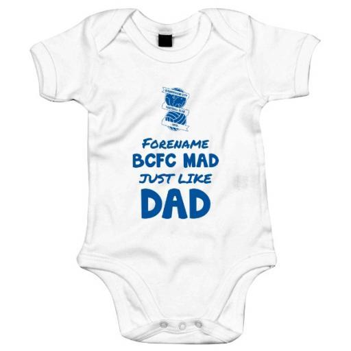 Birmingham City FC Mad Like Dad Baby Bodysuit