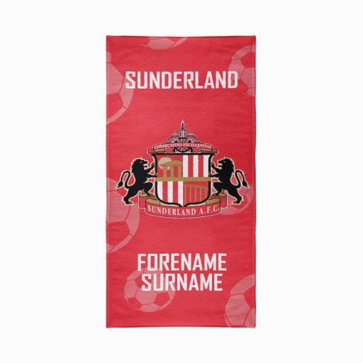 Sunderland AFC Crest Design Towel - 70cm x 140cm