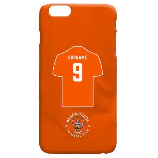 Blackpool FC Shirt Hard Back Phone Case