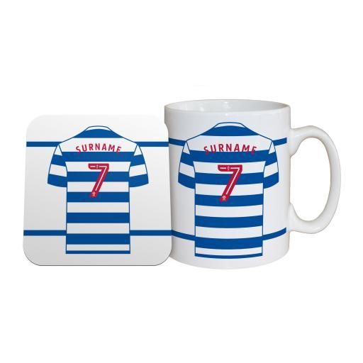 Queens Park Rangers FC Shirt Mug & Coaster Set
