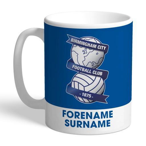 Birmingham City Bold Crest Mug