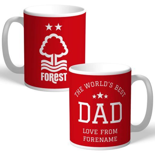 Nottingham Forest FC World's Best Dad Mug
