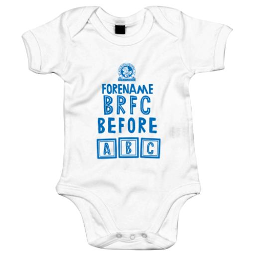 Blackburn Rovers FC Before ABC Baby Bodysuit