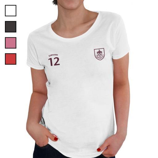 Burnley FC Ladies Sports T-Shirt