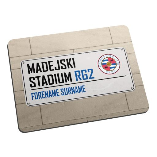 Reading FC Street Sign Mouse Mat