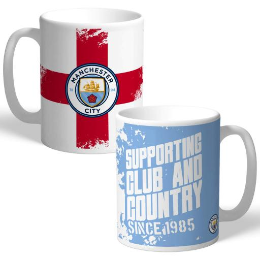 Manchester City FC Club and Country Mug