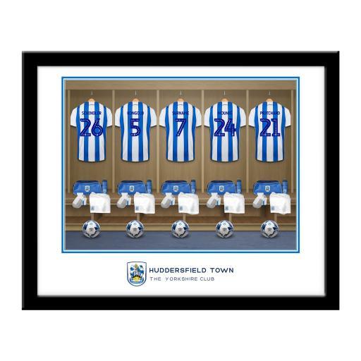 Huddersfield Town AFC Dressing Room Framed Print