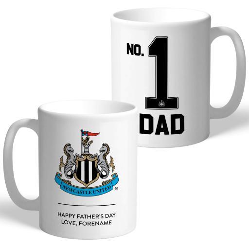 Newcastle United FC No.1 Dad Mug
