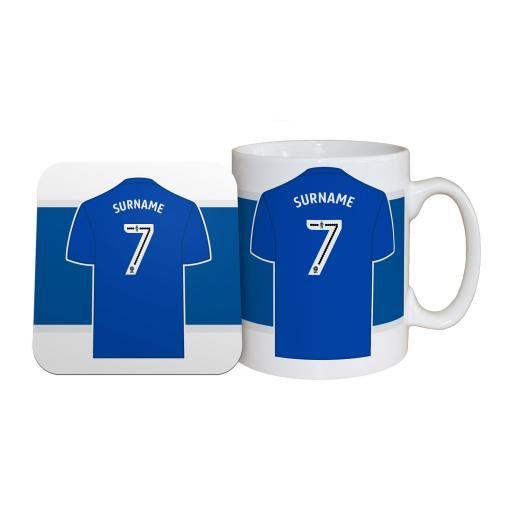 Birmingham City FC Shirt Mug & Coaster Set