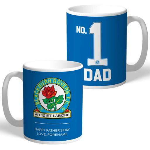 Blackburn Rovers FC No.1 Dad Mug