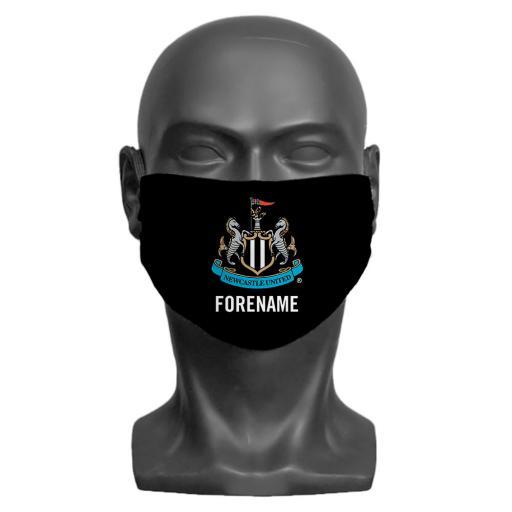 Newcastle United FC Crest Adult Face Mask (Medium)