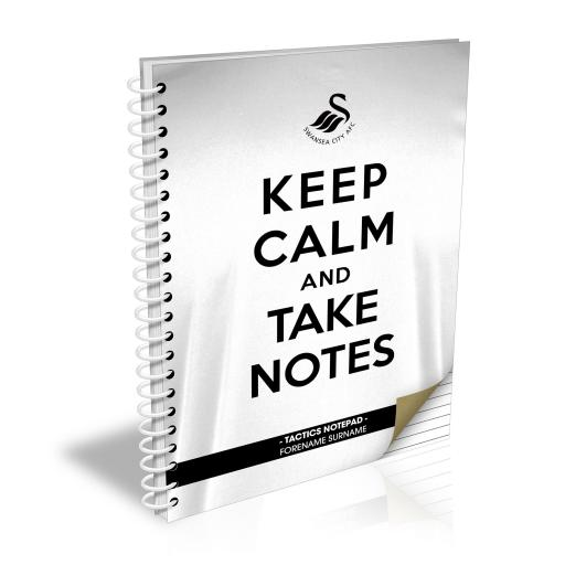 Swansea City AFC Keep Calm Notebook