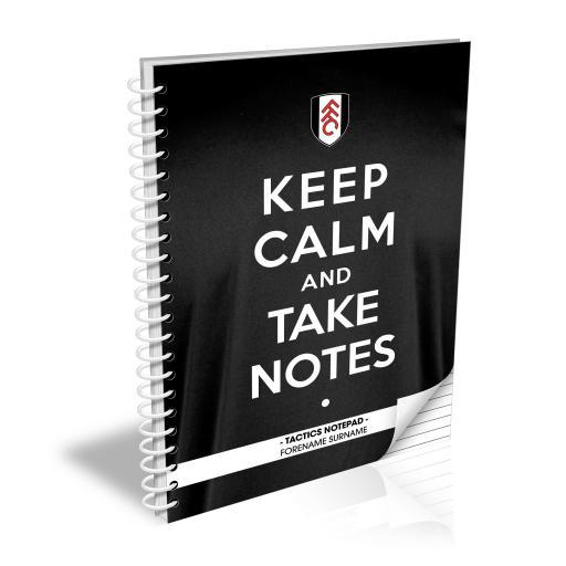 Fulham FC Keep Calm Notebook