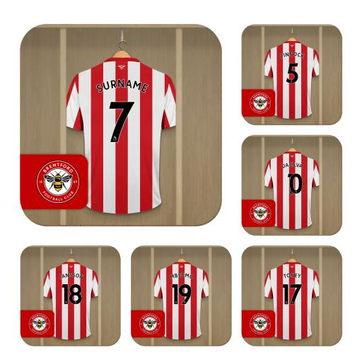 Brentford FC Dressing Room Coasters