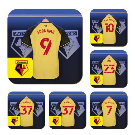 Watford FC Dressing Room Coasters