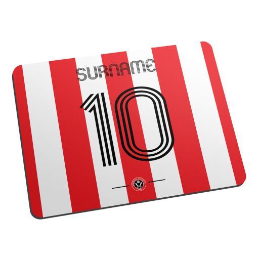 Sheffield United FC Retro Shirt Mouse Mat