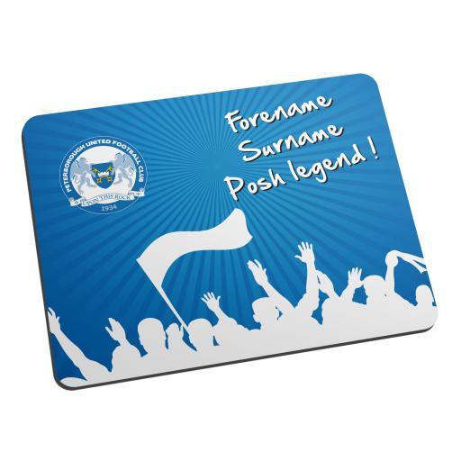 Peterborough United FC Legend Mouse Mat
