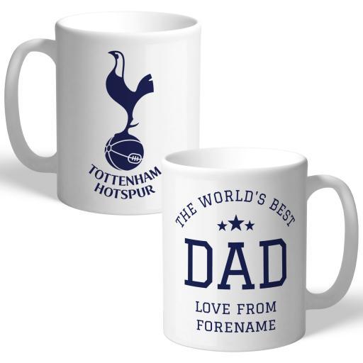 Tottenham Hotspur World's Best Dad Mug