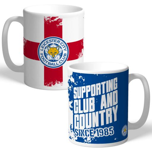 Leicester City FC Club and Country Mug
