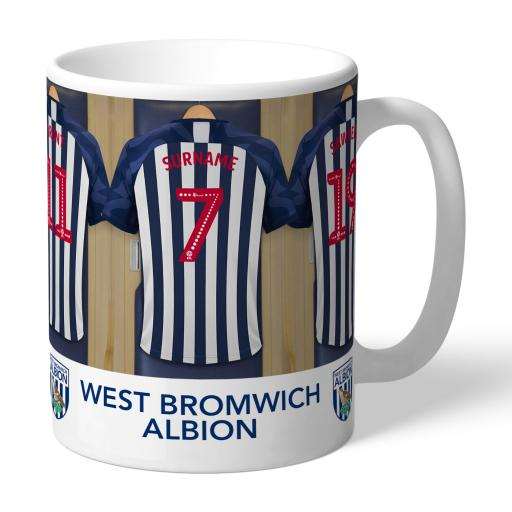 West Bromwich Albion FC Dressing Room Mug