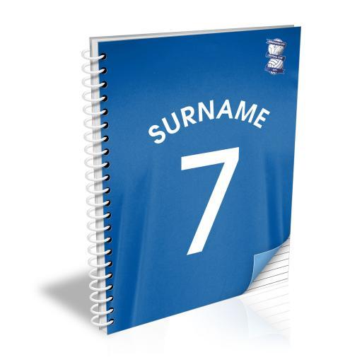 Birmingham City FC Shirt Notebook