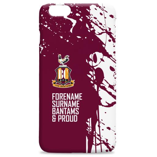 Bradford City AFC Proud Hard Back Phone Case
