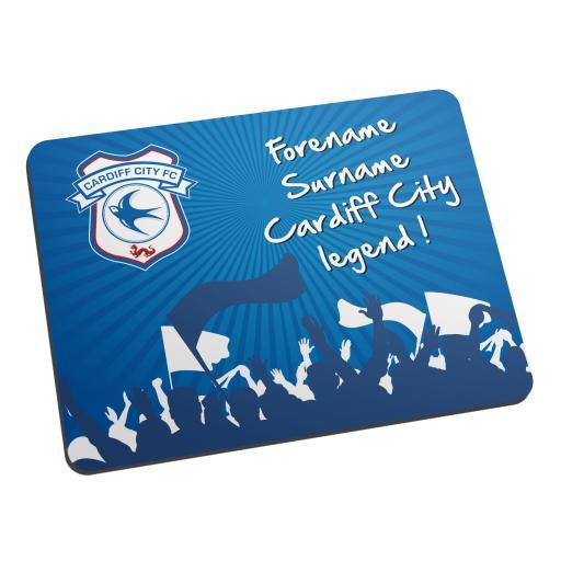 Cardiff City FC Legend Mouse Mat