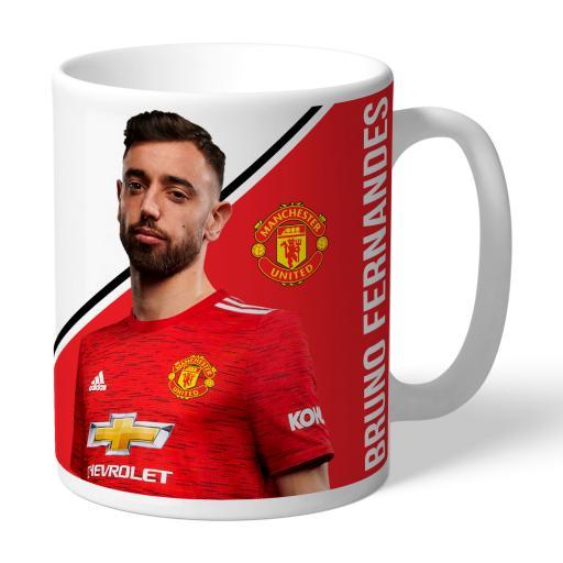 Manchester United FC Fernandes Autograph Mug