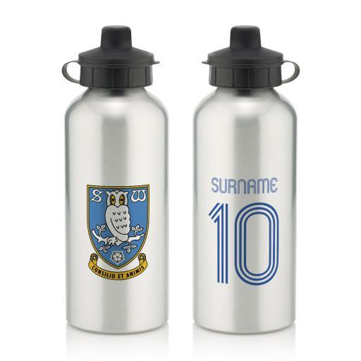 Sheffield Wednesday Retro Shirt Water Bottle