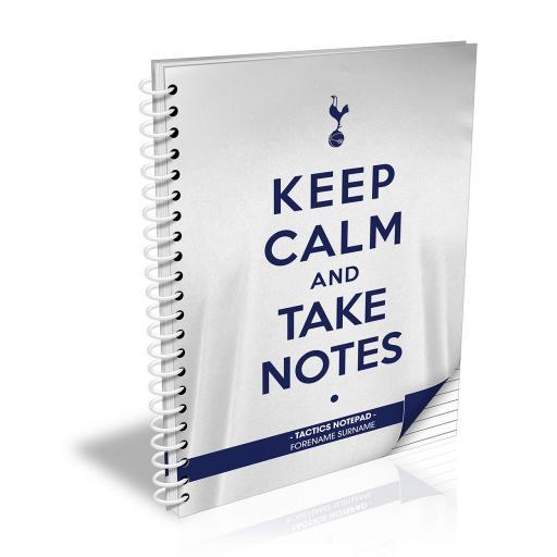 Tottenham Hotspur Keep Calm Notebook