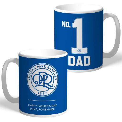 Queens Park Rangers FC No.1 Dad Mug