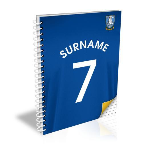Sheffield Wednesday FC Shirt Notebook