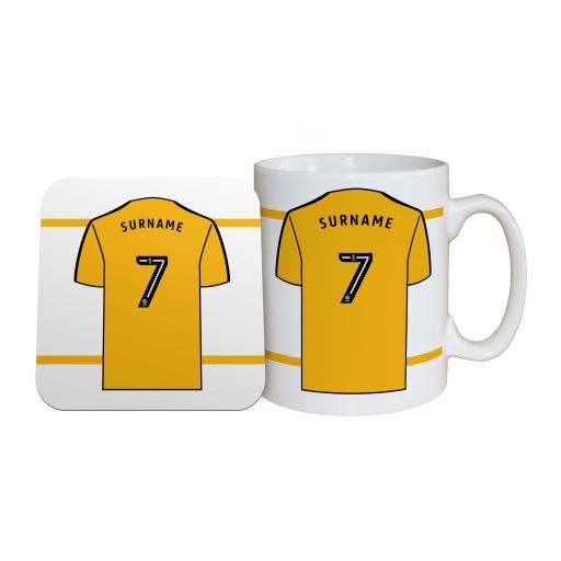 Wolves Shirt Mug & Coaster Set