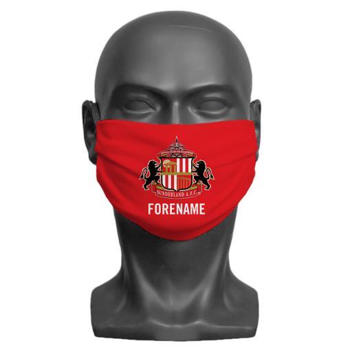 Sunderland AFC Crest Children's Face Mask