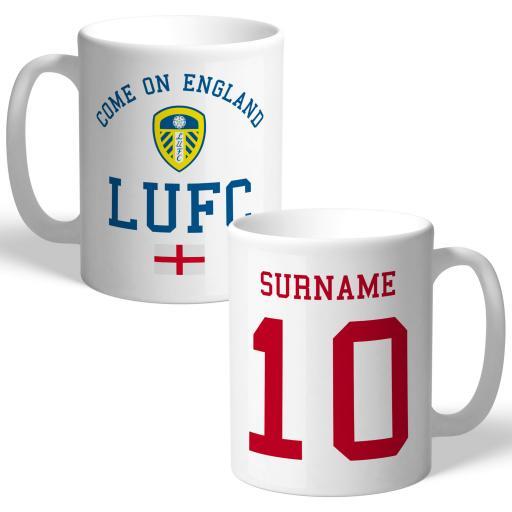Leeds United FC Come On England Mug