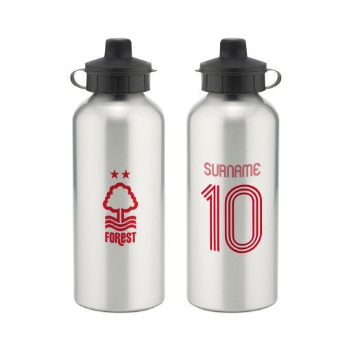 Nottingham Forest FC Retro Shirt Water Bottle