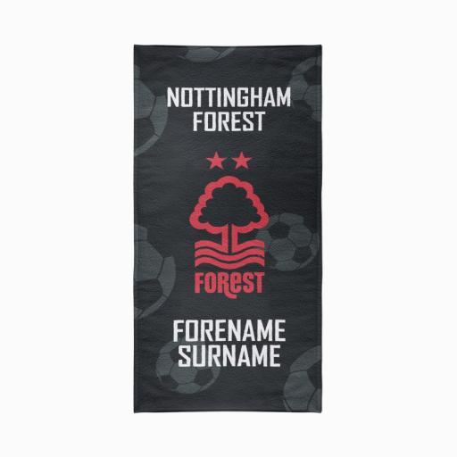 Nottingham Forest FC Crest Design Towel - 70cm x 140cm