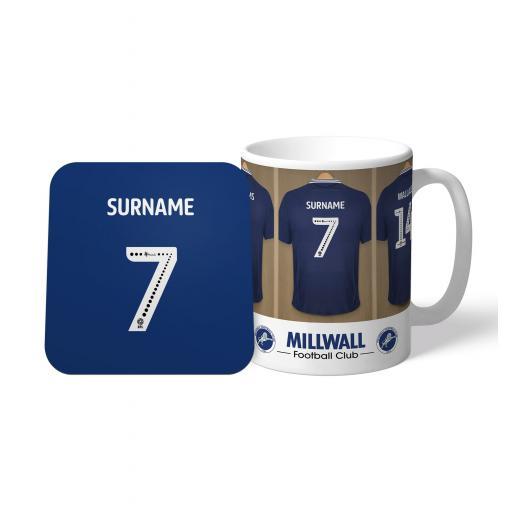 Millwall FC Dressing Room Mug & Coaster Set