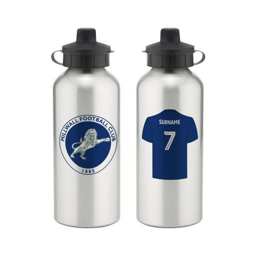 Millwall FC Aluminium Water Bottle