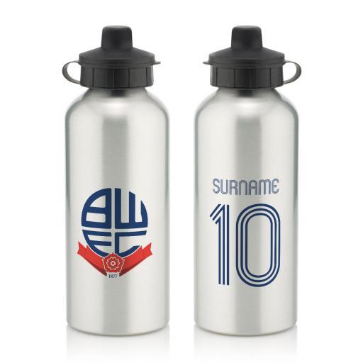 Bolton Wanderers Retro Shirt Water Bottle
