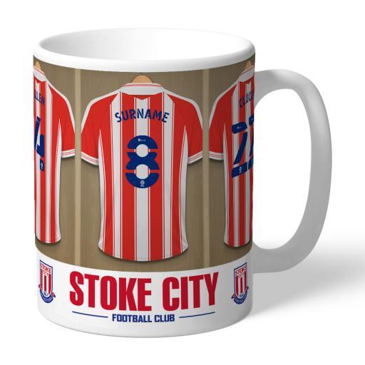 Stoke City FC Dressing Room Mug
